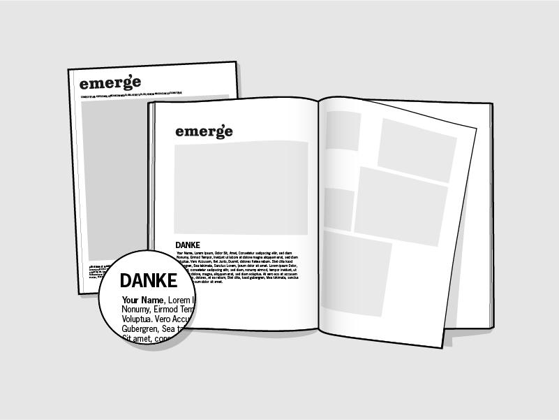 emerge Printmagazin Nr.1 – Migration