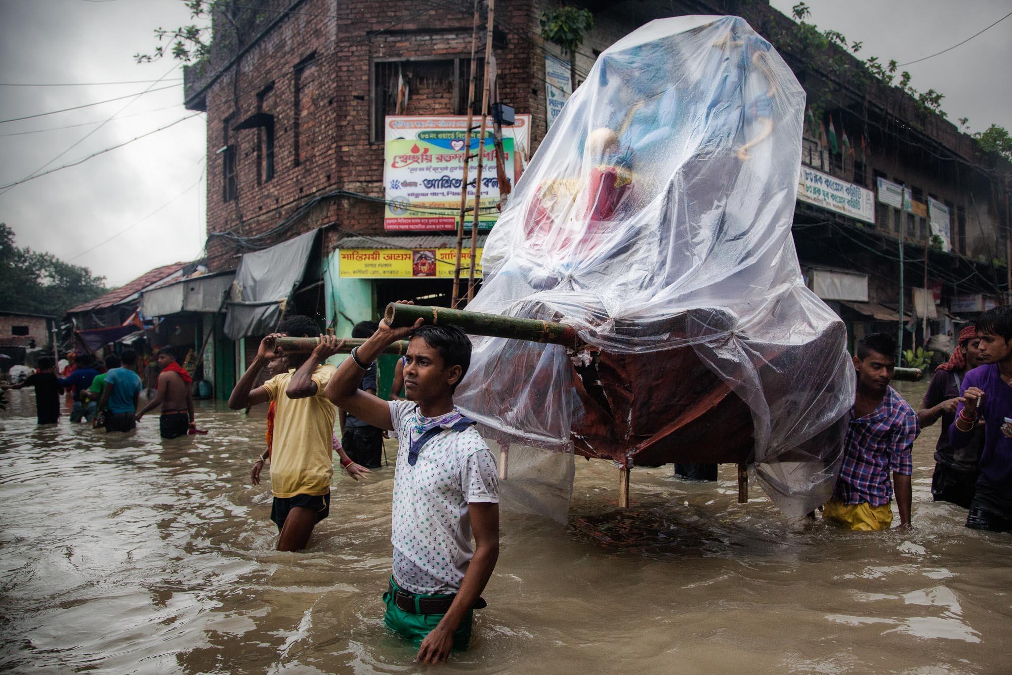 Plötzliche Überschwemmung